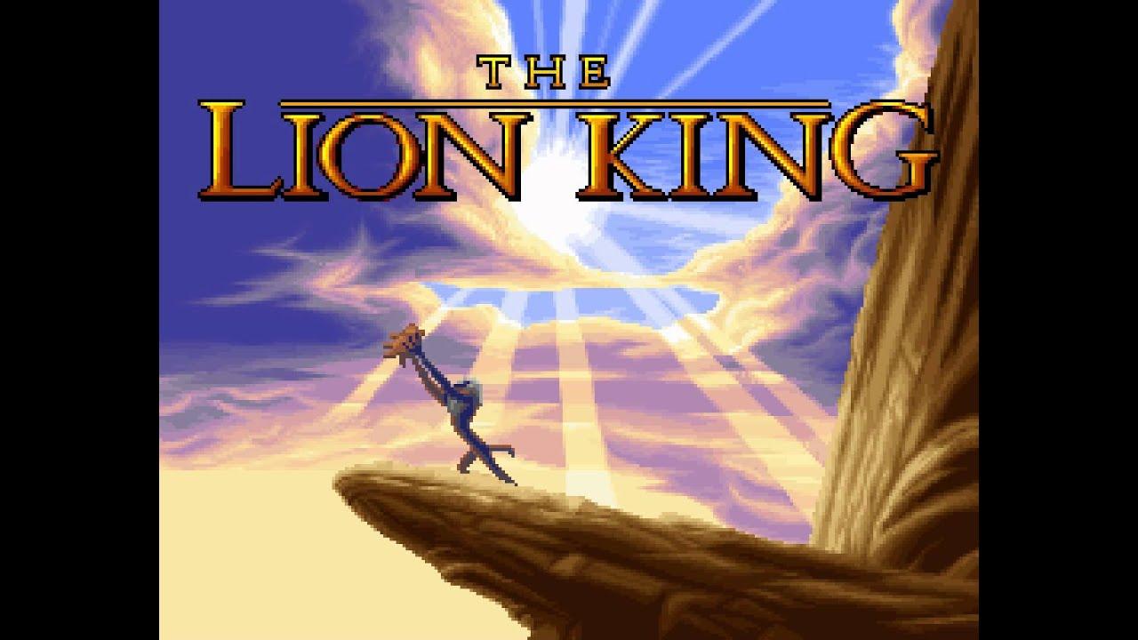 Resultado de imagem para the lion king snes opening