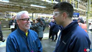 Sen. Barrett visits GM Lansing Delta Township for production milestone