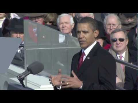 President Barrack Obama's First Inauguration and Address