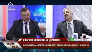 Gambar cover Seçim Özel II Galip Polat  - CHP Kulu Bld Bşk Adayı