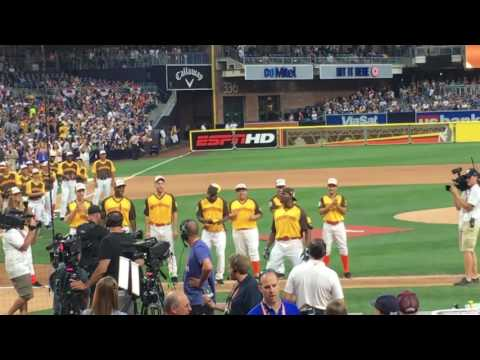 MLB Celebrity All Star Game: Terry Crews Intro