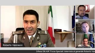 """Difesa ON AIR """"Forze Speciali: intervista al generale Roberto Vannacci"""""""