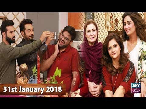 Salam Zindagi With Faysal Qureshi -  31st January 2018 - Ary Zindagi