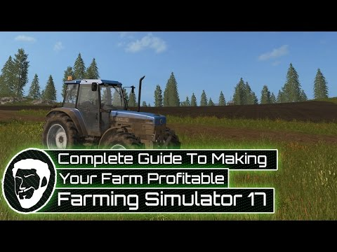 Complete Guide to Making Your Farm Profitable Day One - Farming Simulator 17