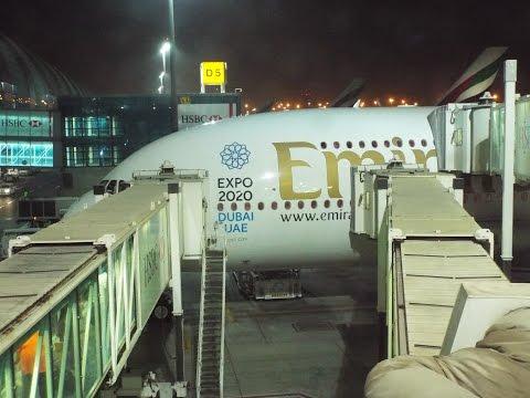[TRIPREPORT] EMIRATES AIRBUS A380-861 UPPER DECK MRU-DXB