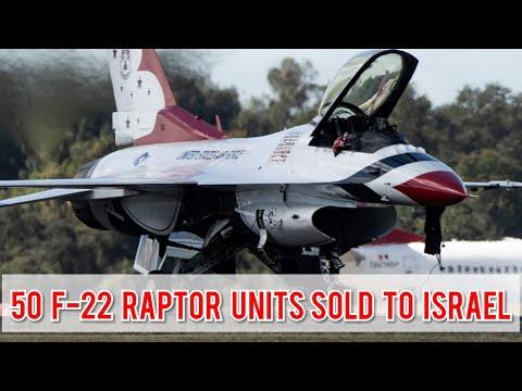 US Sells F 22 Raptor Fighter Jet to Israel