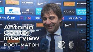 INTER 4-2 AC MILAN | ANTONIO CONTE EXCLUSIVE INTERVIEW: