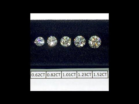 round-cut-diamonds-size-comparison-.60-to-1.50-cts:-lauren-b-diamond-education