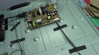 Уменьшение тока драйвера подсветки телевизора LG