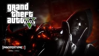 GTA 5 Mods - ALEX MERCER (Prototype 2)