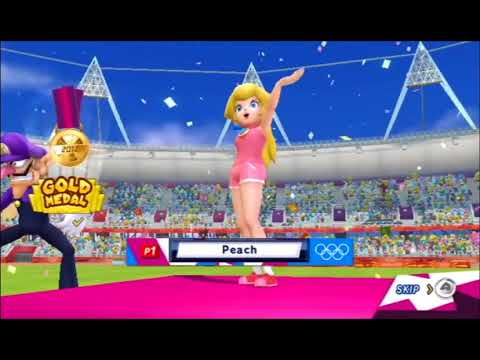 Mario & Sonic at the London 2012 Olympic Games - 100m Sprint - All Characters