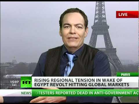 Max Keiser on Revolts: Americans Joining Middle East Uprising Trend