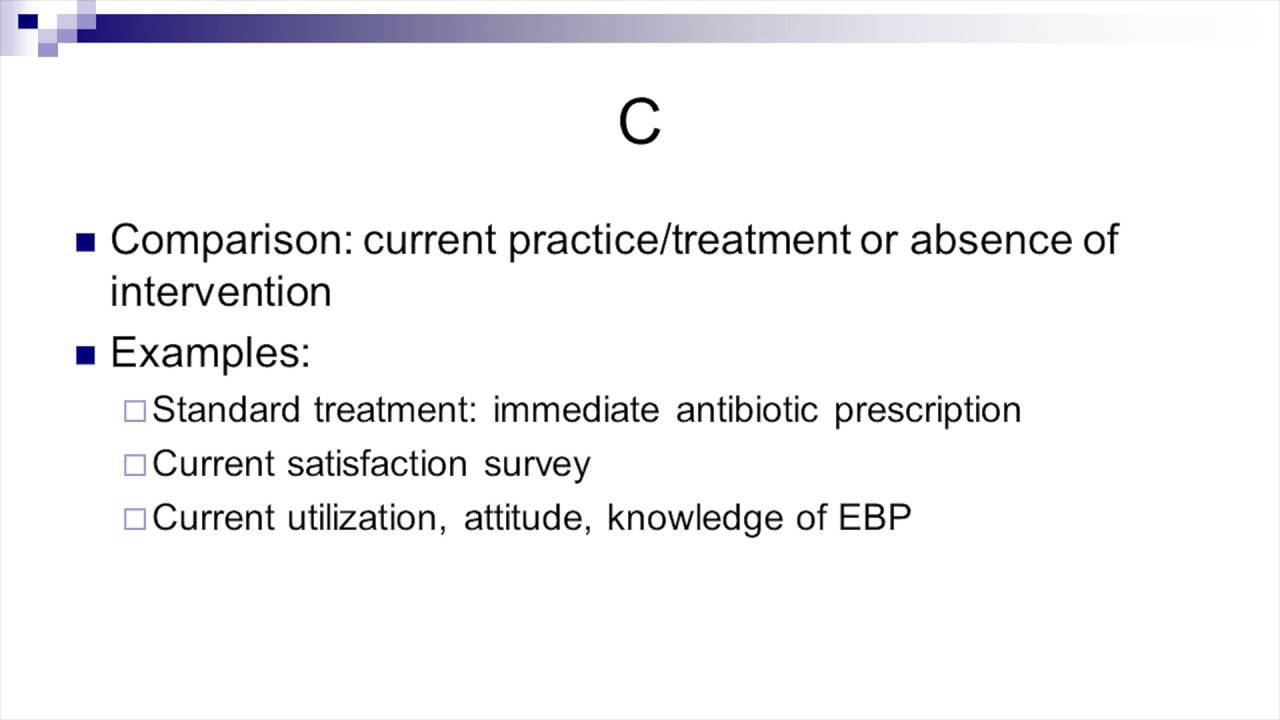 Evidence Based Practice Inquiry Youtube