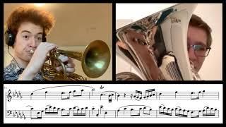 Samuel Morozov - Invention No. 3 for Cornet & Euphonium   Starring Joseph Bickel!