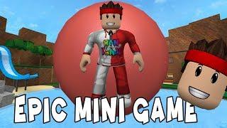 Top Olduk Yuvarlandık   Roblox Epic Mini Game