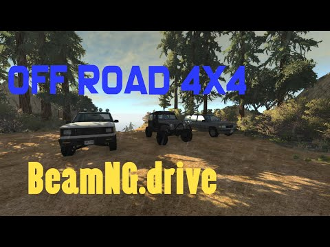BeamNG.drive COMPARE CARS Off-Road island 4x4 Free Ride