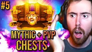Asmongold Gets The Absolute Worst Gear From His Weekly Chests Mythic  Pvp Boxes 5