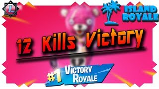 12 KILLS VICTORY❗️ 🤫 - FORTNITE ROBLOX | » Ludaris