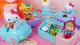 Baby doll Hello Kitty shopping…