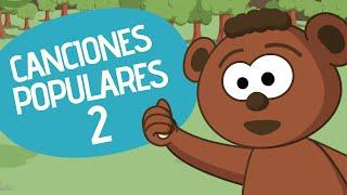 Canciones infantiles  populares 2 | Compilado de 30 minutos | Toobys