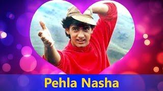 Pehla Nasha - Udit Narayan, Sadhana Sargam || Jo Jeeta Wohi Sikandar - Valentine's Day Song