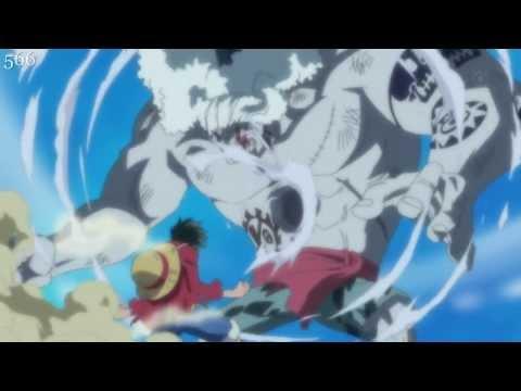 One Piece - Luffy's Attacks Fishman Island Arc
