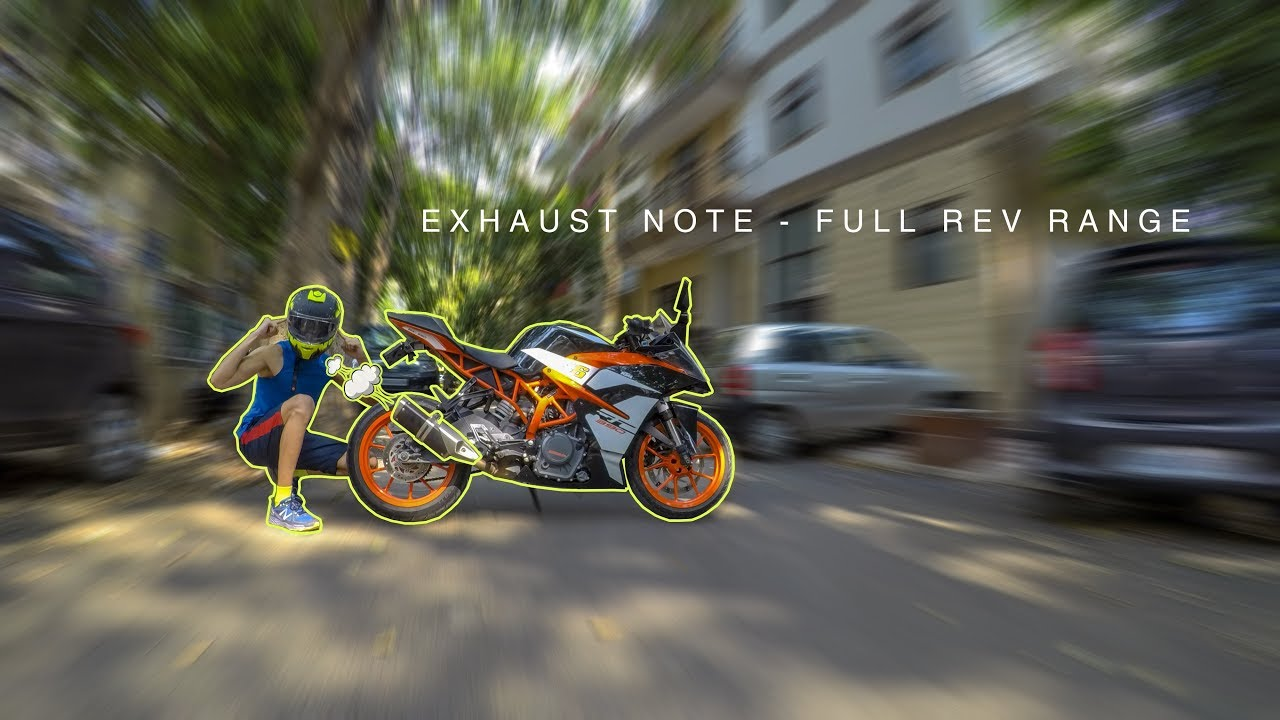 Exhaust Note - Pure sound of RC 390