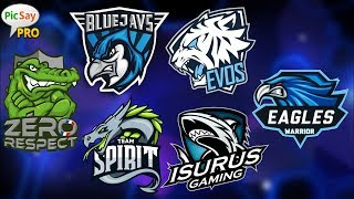 Cara Membuat Logo Esport Logo Gaming Tutorial Picsay Pro