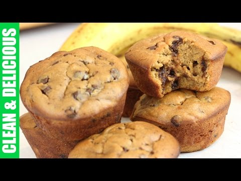 Chunky Monkey Banana Muffins | Gluten Free Recipe