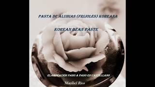 Receta Pasta Alubias o Frijoles Coreana