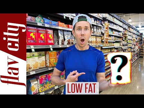 Low Fat Foods Are Making You Fat!