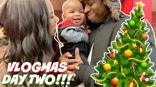 OUR FIRST VLOGMAS AS A FAMILY | VLOGMAS DAY 2