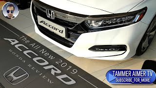 The all new 2019 HONDA ACCORD overview Full HD