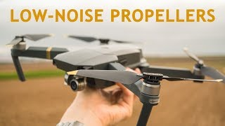 DJI Low-Noise Propellers on Mavic Pro | + Important Hint
