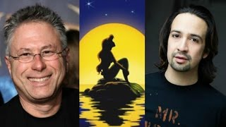 Disney Podcast - ALAN MENKEN & LIN-MANUEL MIRANDA LITTLE MERMAID - Dizney Coast to Coast - Ep. 332