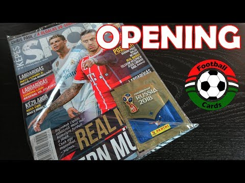 Képes Sport + Panini FIFA World Cup Russia 2018 Matrica csomag | Opening