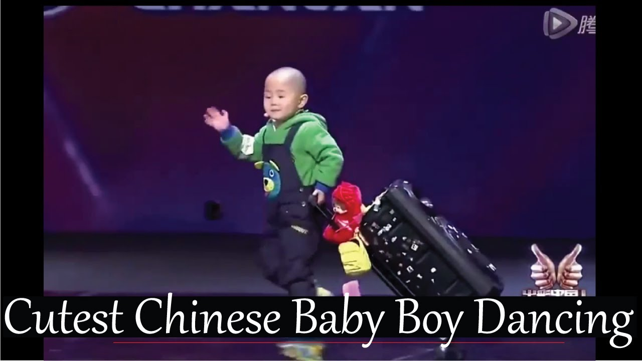 Cutest 3 Year Old Chinese Baby Boy Dancing That  Blows Away Judges