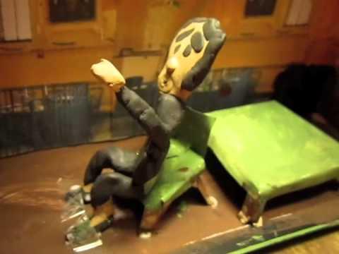 how to make a tornado shoebox diorama