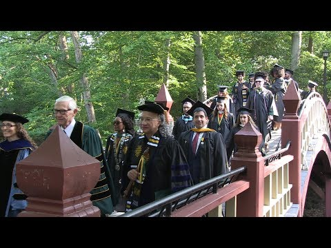 Commencement 2018: The senior walk