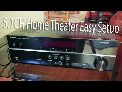 How to Setup Home Theater to TV - Very Easy!