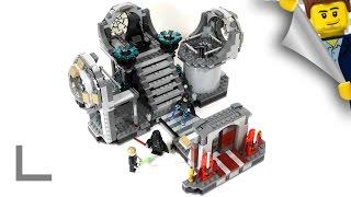 Обзор набора Lego Star Wars #75093 Звезда Смерти - Последняя Схватка (Death Star Final Duel)
