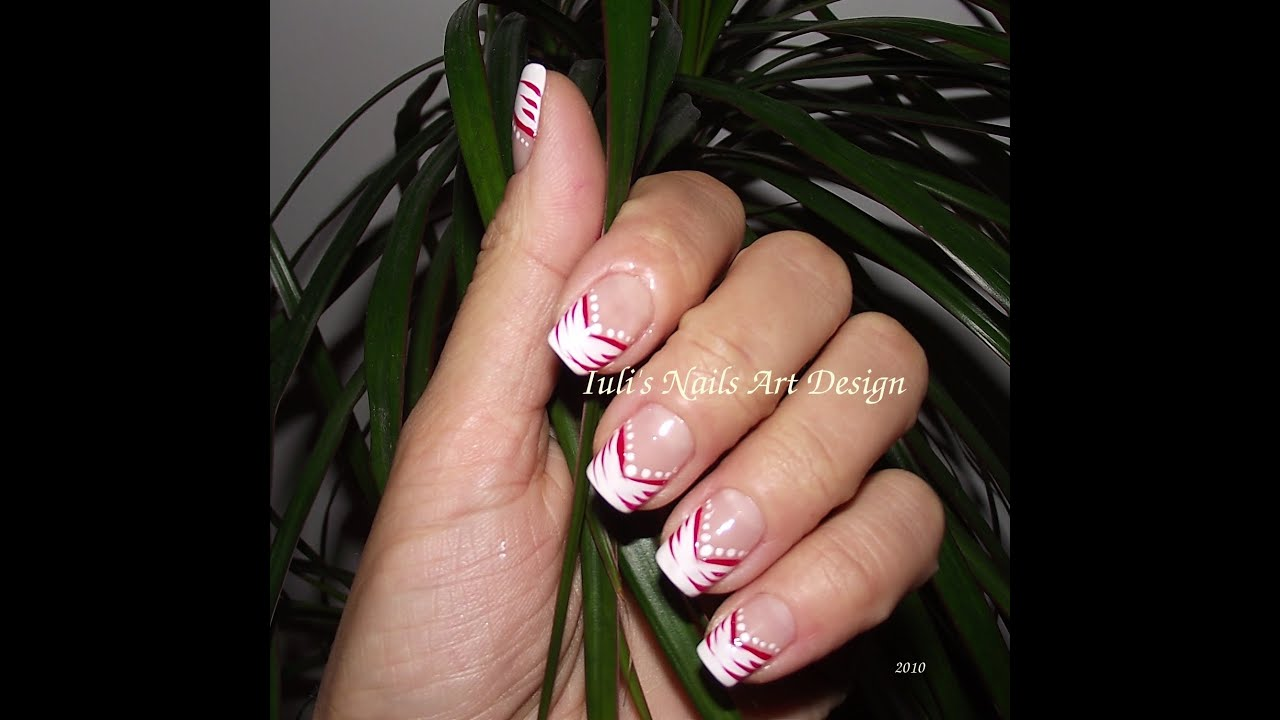 Nail art design v french manicure simple slide show pictures nail art design v french manicure simple slide show pictures youtube prinsesfo Gallery