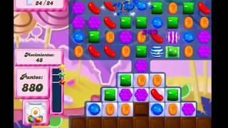 Candy Crush Saga Nivel 89 completado en español sin boosters (level 89)