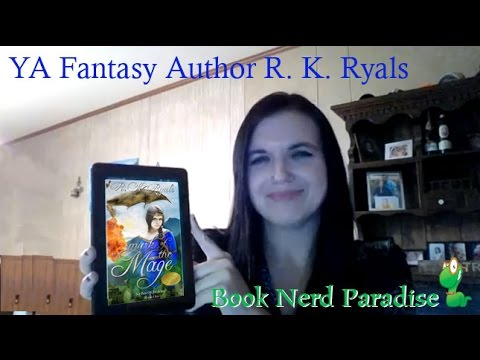 YA Fantasy Author R K Ryals
