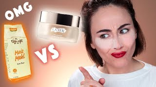 MAIS MEHL ALS BAKING POWDER 😳 | MEHL vs HIGH END La Mer THE POWDER | Hatice Schmidt