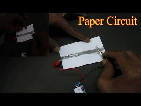 Paper Circuit - Cool Paper Circuit Science Project for Students
