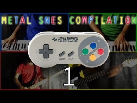 Super Nintendo   Metal SNES Compilation 1