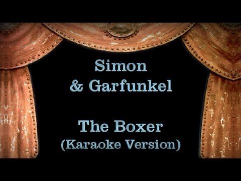 Simon & Garfunkel - The Boxer - Lyrics (Karaoke Version)