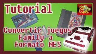 Tutorial: Convertir juegos de Family a cartucho NES - Circus Charlie