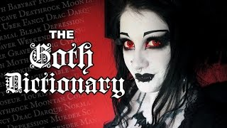 The Goth Dictionary | Black Friday